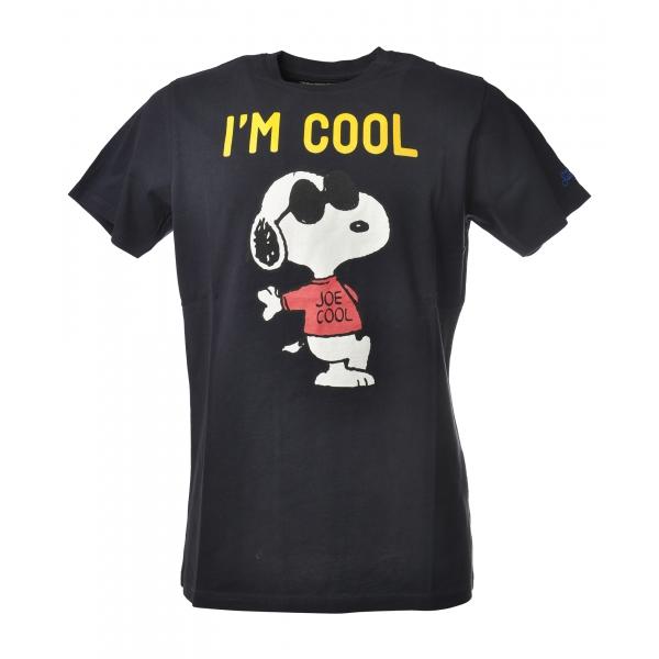 MC2 Saint Barth - T-Shirt Arnott Snoopy Rock - Blue - Luxury Exclusive Collection