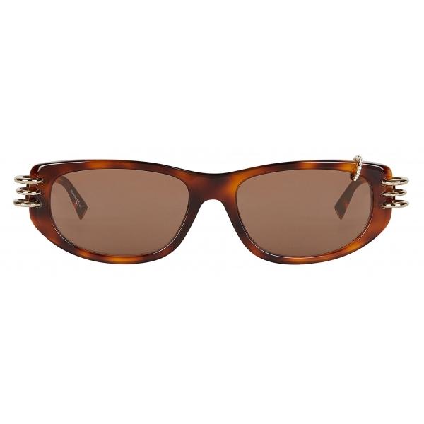 Givenchy - Occhiali da Sole Unisex GV Piercing in Acetato - Marrone - Occhiali da Sole - Givenchy Eyewear