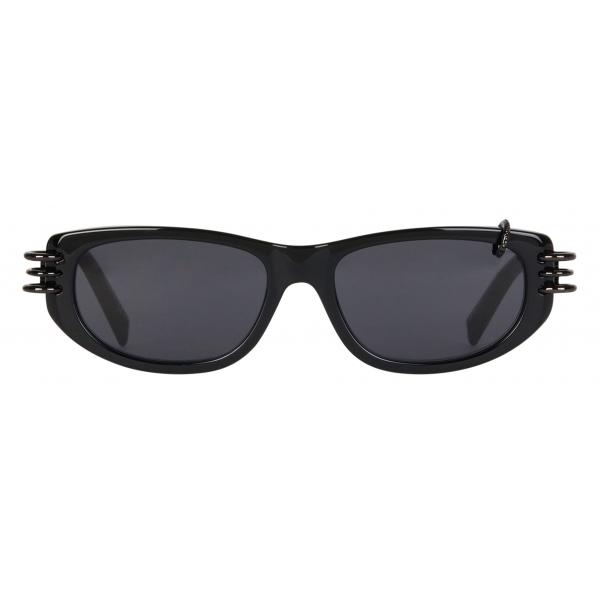 Givenchy - GV Piercing Unisex Sunglasses in Acetate - Black - Sunglasses - Givenchy Eyewear