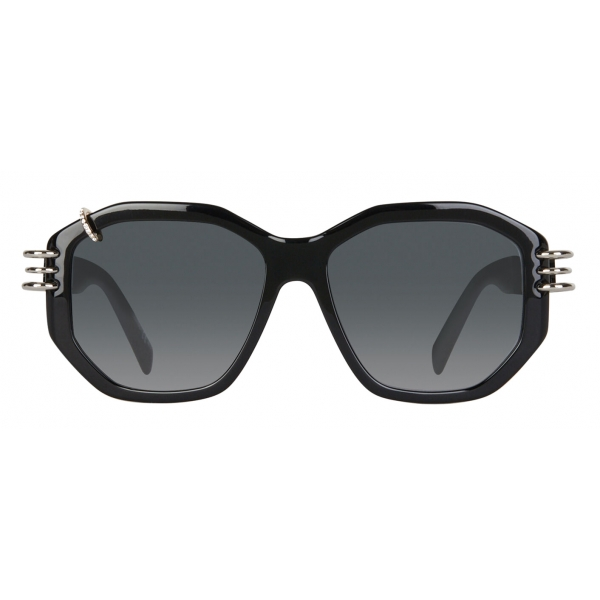 Givenchy - GV Piercing Sunglasses in Acetate - Black - Sunglasses - Givenchy Eyewear
