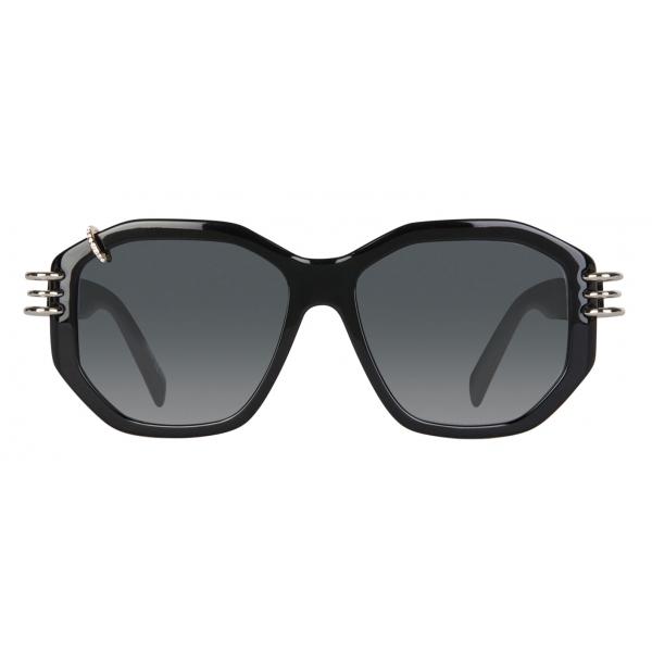 Givenchy - Occhiali da Sole GV Piercing in Acetato - Nero - Occhiali da Sole - Givenchy Eyewear