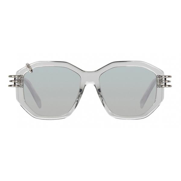 Givenchy - Occhiali da Sole Unisex GV Piercing in Acetato - Bianco - Occhiali da Sole - Givenchy Eyewear
