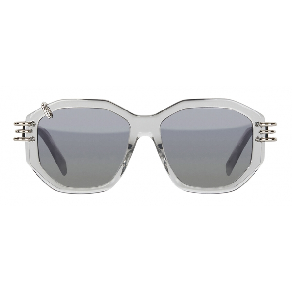 Givenchy - GV Piercing Sunglasses in Acetate - Grey - Sunglasses - Givenchy Eyewear