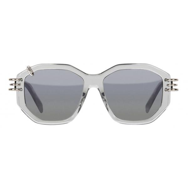 Givenchy - Occhiali da Sole GV Piercing in Acetato - Grigio - Occhiali da Sole - Givenchy Eyewear