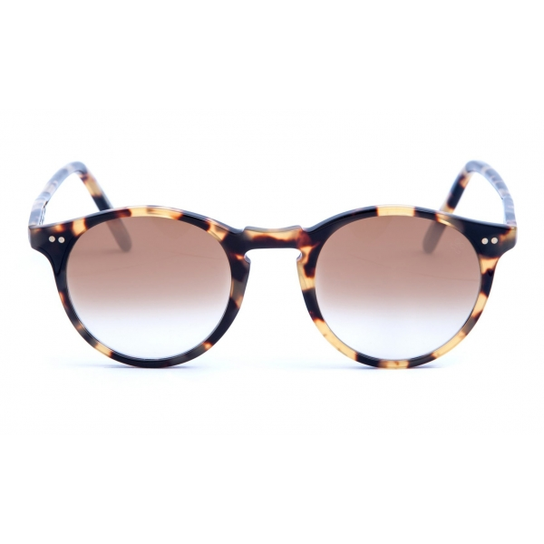 David Marc - ADAMO A25M - Blonde Havana - Occhiali da Sole - Handmade in Italy - David Marc Eyewear