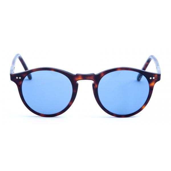 David Marc - ADAMO 519M - Havana - Sunglasses - Handmade in Italy - David Marc Eyewear