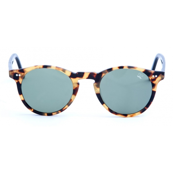 David Marc -  ADAMO A25-L10 - Blonde Havana - Sunglasses - Handmade in Italy - David Marc Eyewear