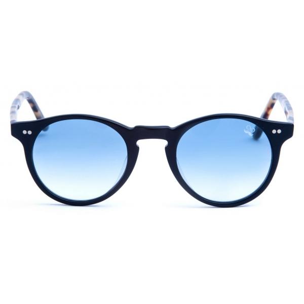 David Marc - ADAMO L10-A25M - Blonde Havana - Occhiali da Sole - Handmade in Italy - David Marc Eyewear