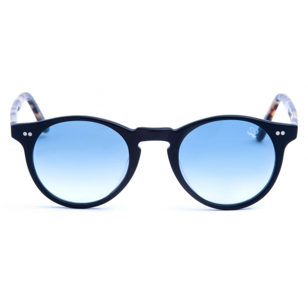 David Marc - ADAMO L10-A25M - Blonde Havana - Sunglasses - Handmade in Italy - David Marc Eyewear