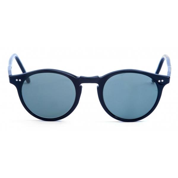 David Marc - ADAMO L10M -Black - Sunglasses - Handmade in Italy - David Marc Eyewear