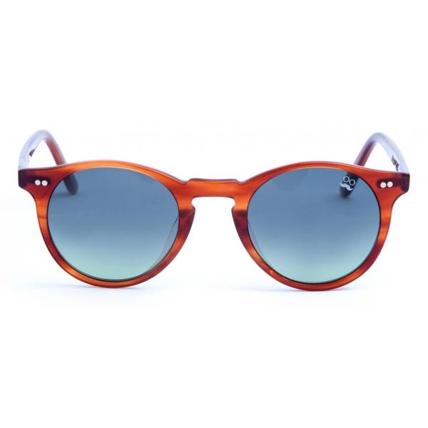 David Marc - ADAMO L24 - Brown - Sunglasses - Handmade in Italy - David Marc Eyewear