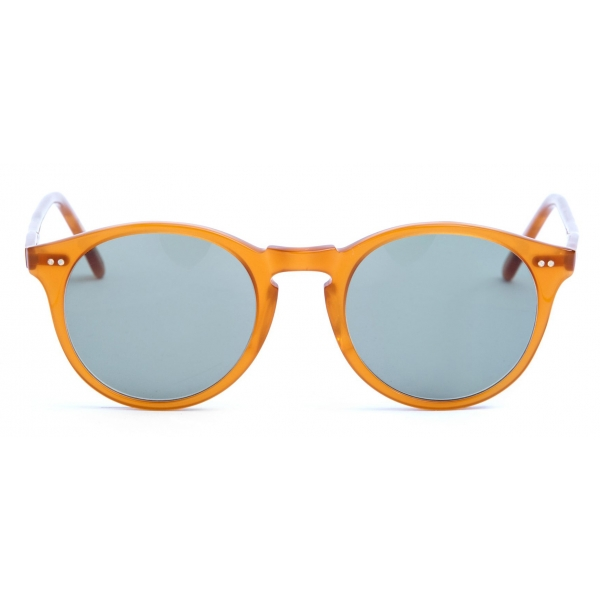 David Marc -   ADAMO M76 - Orange - Occhiali da Sole - Handmade in Italy - David Marc Eyewear