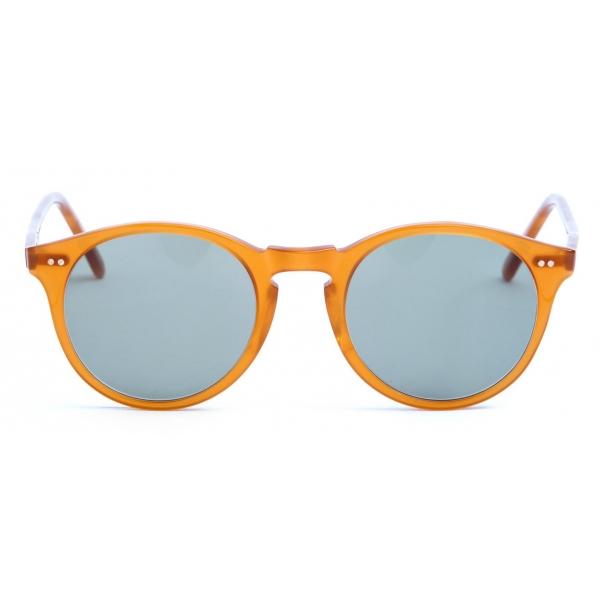 David Marc -   ADAMO M76 - Orange - Sunglasses - Handmade in Italy - David Marc Eyewear