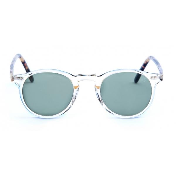 David Marc - ADAMO M95-A25 - Blonde Havana - Sunglasses - Handmade in Italy - David Marc Eyewear