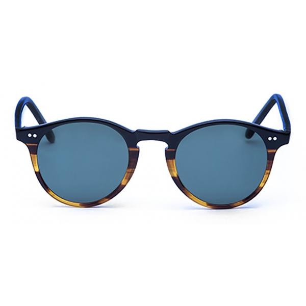 David Marc -  ADAMO S-M23 - Blonde Havana - Sunglasses - Handmade in Italy - David Marc Eyewear