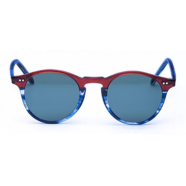 David Marc - ADAMO S-M48 - Blonde Havana - Sunglasses - Handmade in Italy - David Marc Eyewear