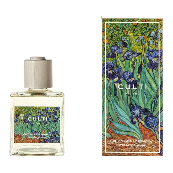Culti Milano - Van Gogh - Diffusore Culti for Getty Museum 500 ml - Irises - Profumi d'Ambiente - Fragranze - Luxury