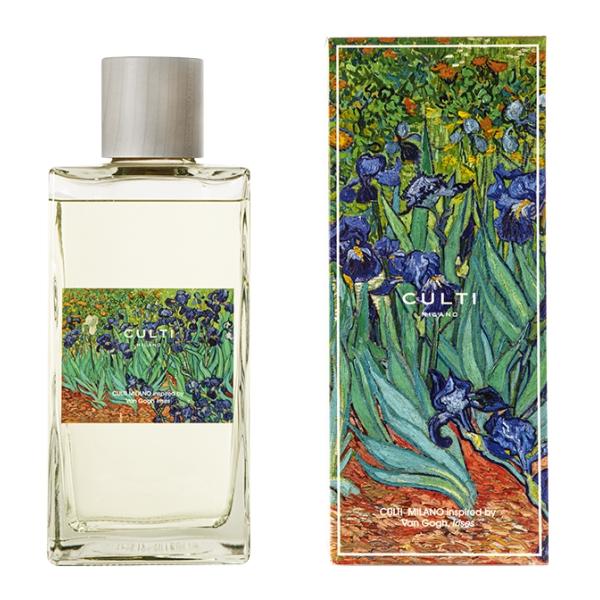 Culti Milano - Van Gogh - Diffusore Culti for Getty Museum 2700 ml - Irises - Profumi d'Ambiente - Fragranze - Luxury