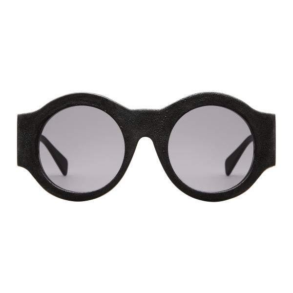 Kuboraum - Mask A5 - Black Burnt - A5 BM BT - Sunglasses - Kuboraum Eyewear