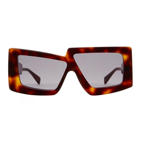 Kuboraum - Mask X10 - Havana - X10 HA - Sunglasses - Kuboraum Eyewear