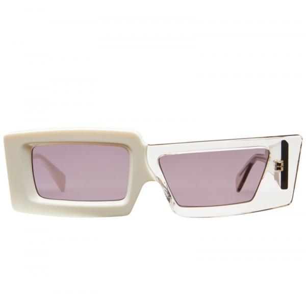 Kuboraum - Mask X11 - White & Smoke - X11 MIK - Sunglasses - Kuboraum Eyewear