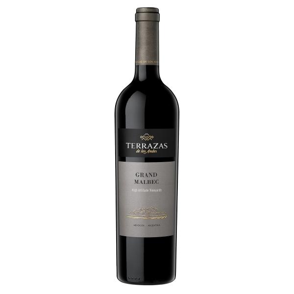 Terrazas de Los Andes - Terrazas Grand Malbec - Malbec - Vino Rosso - Luxury Limited Edition - 750 ml