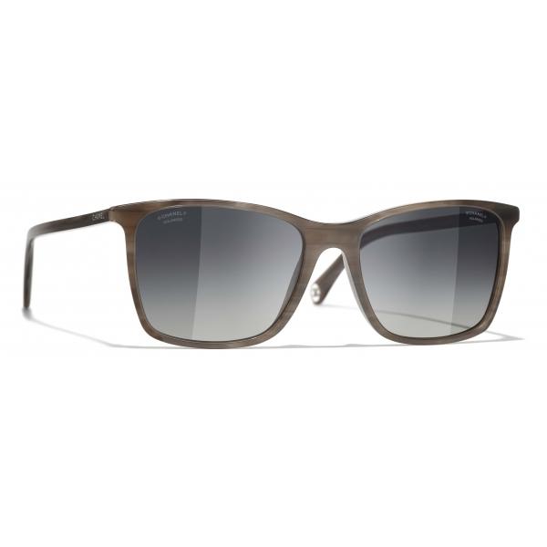 Chanel - Square Sunglasses - Gray - Chanel Eyewear