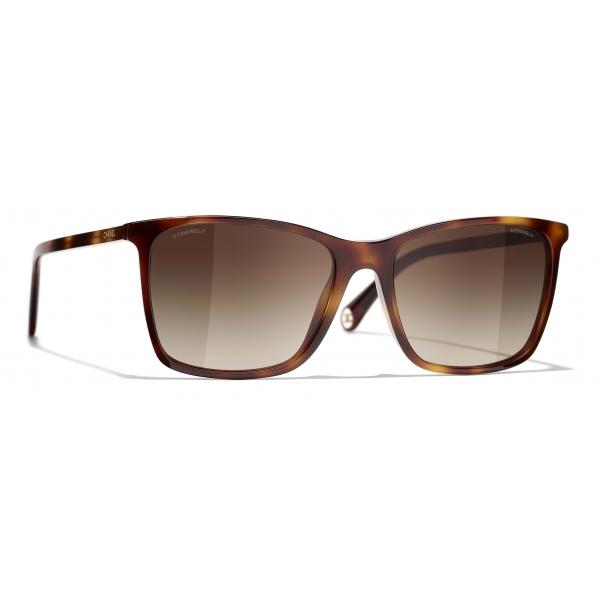 Chanel - Square Sunglasses - Tortoise Brown - Chanel Eyewear
