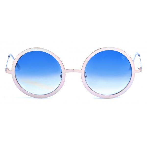 David Marc - GIORGIA3 GOLD - Sunglasses - Handmade in Italy - David Marc Eyewear