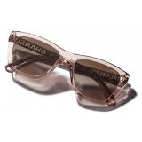 Chanel - Rectangular Sunglasses - Pink Brown - Chanel Eyewear
