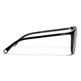 Chanel - Occhiali da Sole Pantos - Nero Grigio - Chanel Eyewear