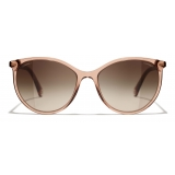 Chanel - Pantos Sunglasses - Brown - Chanel Eyewear