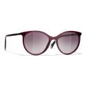 Chanel - Pantos Sunglasses - Red - Chanel Eyewear