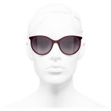 Chanel - Occhiali da Sole Pantos - Rosso - Chanel Eyewear