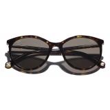 Chanel - Occhiali da Sole Pantos - Tartaruga Scuro Marrone - Chanel Eyewear