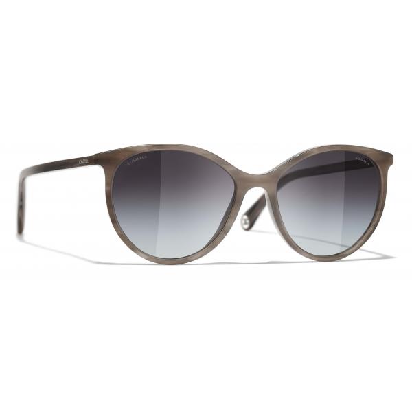 Chanel - Occhiali da Sole Pantos - Grigio - Chanel Eyewear