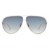 Dior - Occhiali da Sole - EverDior AU - Oro Rosa Blu - Dior Eyewear