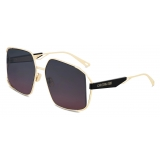 Dior - Occhiali da Sole - ArchiDior S1U - Oro Nero Bordeaux - Dior Eyewear