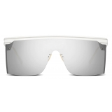 Dior - Sunglasses - DiorClub M1U - White Silver - Dior Eyewear