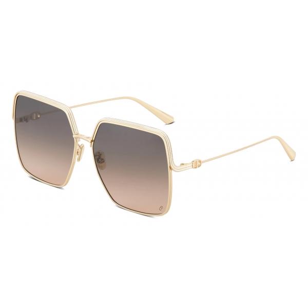 Dior - Occhiali da Sole - EverDior S1U - Oro Rosa Grigio - Dior Eyewear