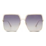 Dior - Occhiali da Sole - EverDior S1U - Oro Blu Viola - Dior Eyewear