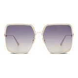 Dior - Sunglasses - EverDior S1U - Gold Blue Violet - Dior Eyewear
