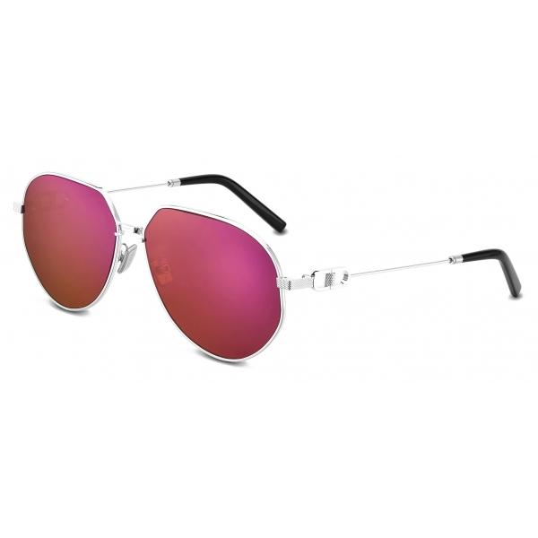 Dior - Occhiali da Sole - CD Link A1U - Argento Bordeaux - Dior Eyewear