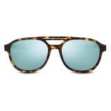 Dior - Sunglasses - DiorEssential R2U - Tortoiseshell Blue - Dior Eyewear