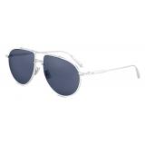 Dior - Occhiali da Sole - DiorBlackSuit AU - Argento Blu - Dior Eyewear
