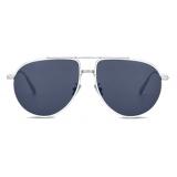 Dior - Sunglasses - DiorBlackSuit AU - Silver Blue - Dior Eyewear