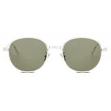 Dior - Sunglasses - DiorBlackSuit S2U - Silver Khaki - Dior Eyewear