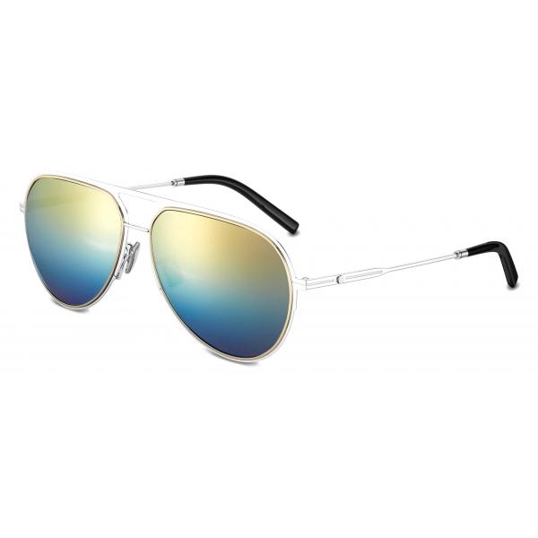 Dior - Sunglasses - DiorEssential A2U - Silver Gold Blue - Dior Eyewear