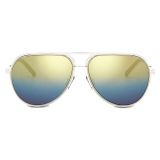 Dior - Occhiali da Sole - DiorEssential A2U - Argento Oro Blu - Dior Eyewear
