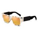 Dior - Occhiali da Sole - CD SU - Avorio Arancione Nero - Dior Eyewear